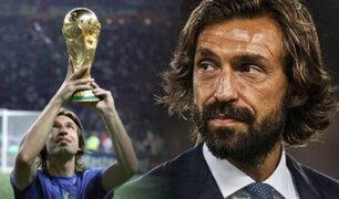 Andrea Pirlo fue oficializado como nuevo entrenador en la Juventus