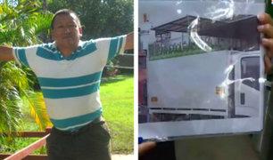 SJM: denuncian robo de camión de la empresa de Mario Romero, el Ángel del Oxígeno