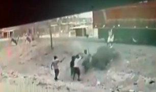 Piura: intento de robo termina con enfrentamiento a balazos