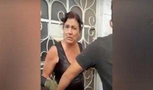 Tumbes: madre ataca a Policías con un cuchillo para evitar detención de su hijo