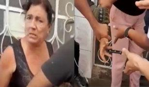 Tumbes: Vecinos atacan a policías para evitar detención de presunto sicario