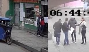 Comas: Vecinos exigen mayor presencia policial ante incremento de asaltos
