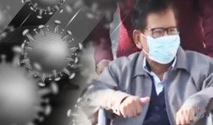 Dan de Alta al Gobernador de Moquegua tras superar el coronavirus