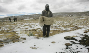 Zonas altas de la sierra centro registrarán temperaturas de 8 grados bajo cero