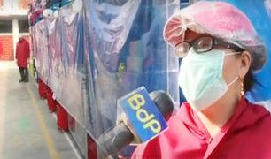 """Santa Anita: mercado """"La Viña de Israel"""" se convierte en ejemplo por sus medidas de bioseguridad"""