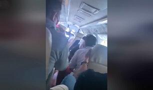 Tarapoto: avioneta aterriza de emergencia por mal tiempo