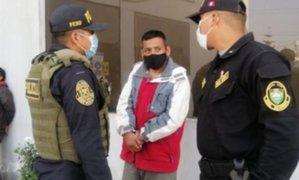Huachipa: dictan prisión preventiva a sujeto que atacó con una navaja a su expareja