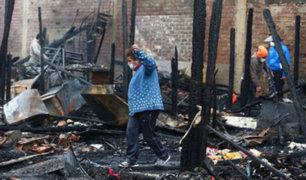 Reniec brindará atención gratuita a damnificados del incendio en Cercado de Lima