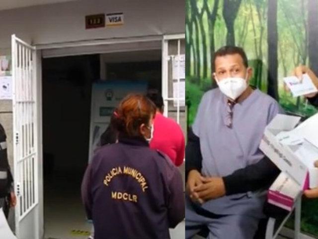 Callao: Clausuran tres locales donde realizaban pruebas rápidas sin autorización