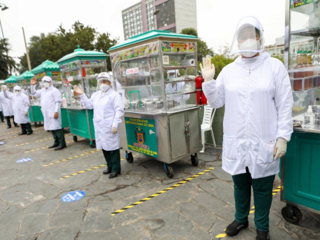 Módulos de comida ambulante formales implementa medidas de seguridad