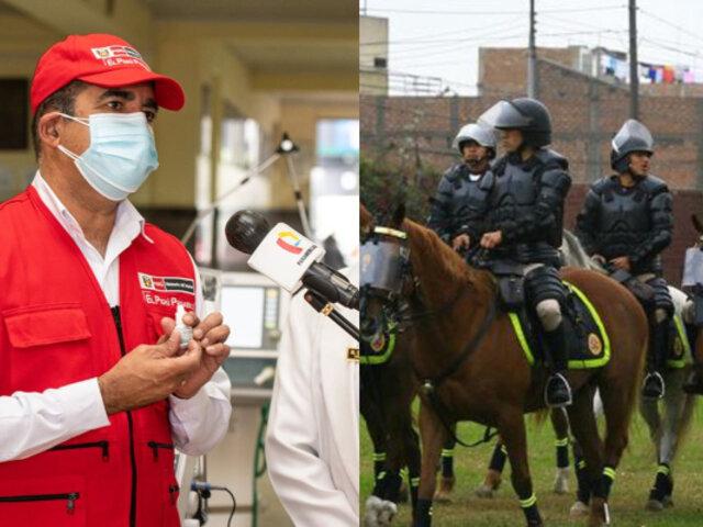El Potao: Ministro Gastón Rodriguez anunció el inmediato relevo de policías implicados