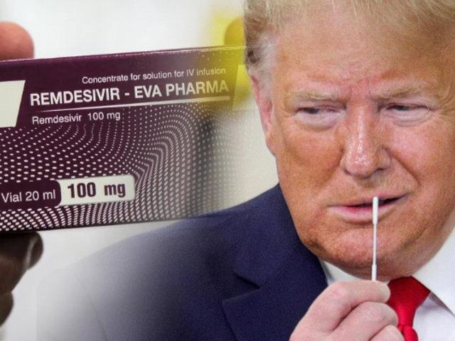Donald Trump deja al resto del mundo sin tratamiento de Remdesivir