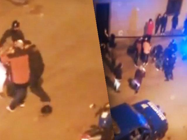 Sujeto en estado de ebriedad fue detenido por golpear a sereno de Los Olivos
