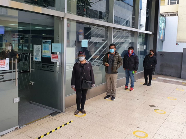 Reniec: sede de Miraflores reinició atención presencial pero solo con previa cita