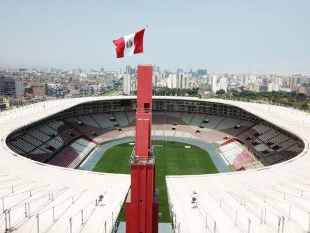 Estadio Nacional estará en óptimas condiciones para recibir partidos de la Liga 1