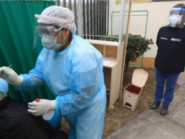 Coronavirus: implementarán 157 puntos para descarte en Lima y Callao