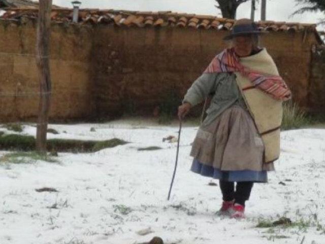 Bajas temperaturas ponen en riesgo muy alto a más de 5,000 centros poblados