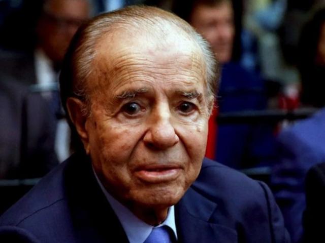 Carlos Menem: Expresidente argentino fue nuevamente hospitalizado