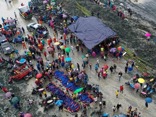 Tragedia en Birmania: 160 obreros mueren en la mina de jade más grande