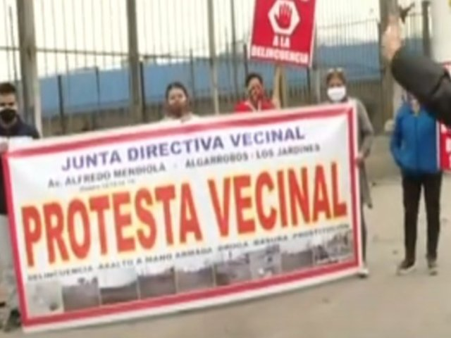 SMP: vecinos piden convertir exterminal de Fiori en centro de salud