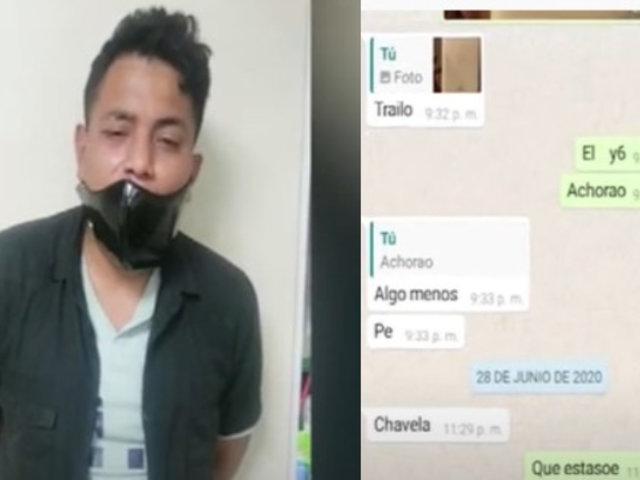 Ladrón que mordió a joven para robar celular tenía clientes fijos para su venta
