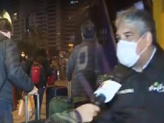 Miraflores: continúa retorno de personas a EEUU