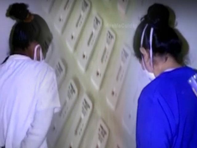 Los Olivos: intervienen a dos falsas enfermeras que realizaban pruebas rápidas de COVID-19