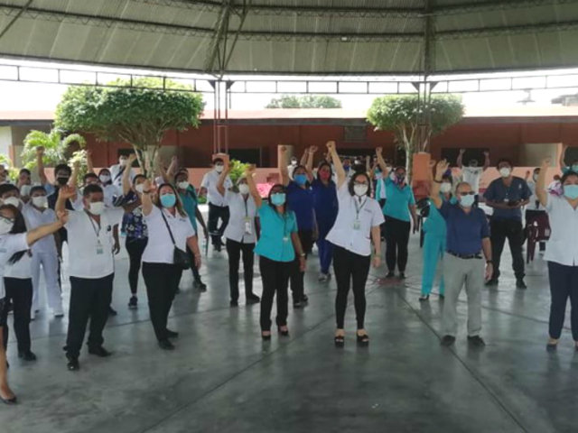 Iquitos: centro de salud cerró sus puertas por disminución de casos COVID-19