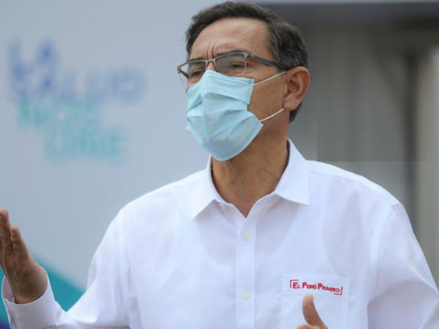 Presidente Vizcarra insta al Congreso aprobar leyes de reformas políticas