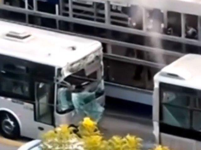 Metropolitano: ATU contrata buses para transportar a usuarios varados en E. Naranjal