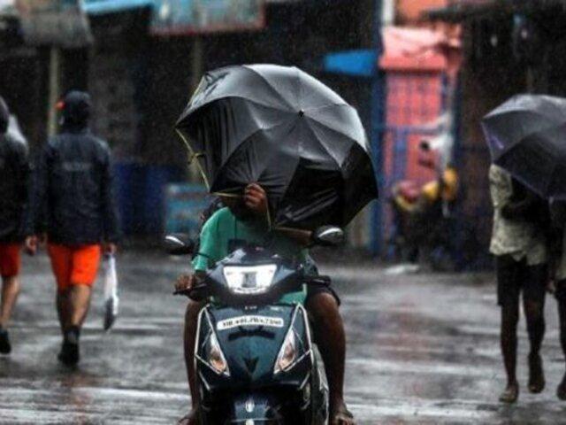 India: lluvias monzónicas causan estragos en Bombay