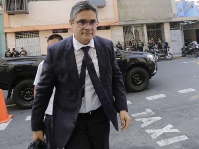 Fiscal Pérez: Decisión de la Corte Suprema para procesar a Chávarry es acertada
