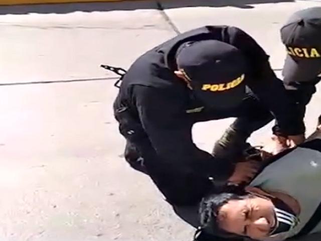 Huanta: denuncian intervención policial violenta a un hombre que reunía fondos para planta de oxígeno