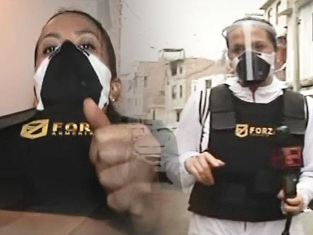 Mónica Cabrejos se enfrenta a la delincuencia desde el lugar de los hechos