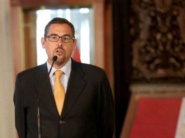 Gonzalo Zegarra: Indecopi acepta su renuncia a Comisión de Eliminación de Barreras Burocráticas