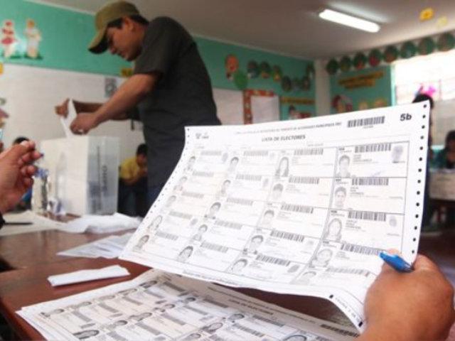 Ejecutivo presentará proyecto de ley que modifica la legislación electoral