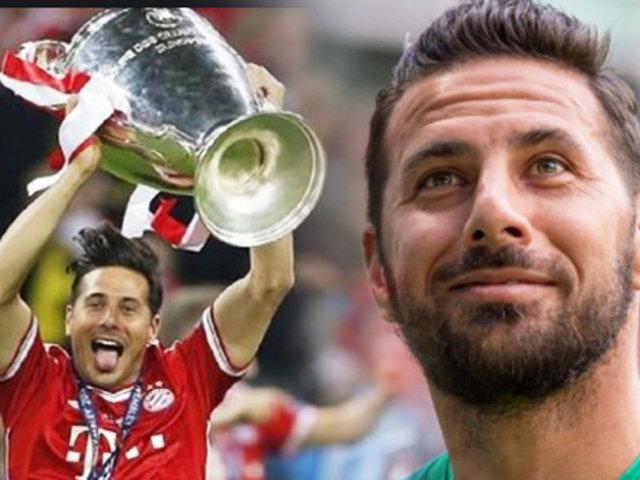 Claudio Pizarro tendrá su último partido como profesional en la Bundesliga
