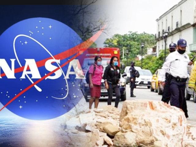 NASA asegura que sismo en México movió 45 cm el terreno