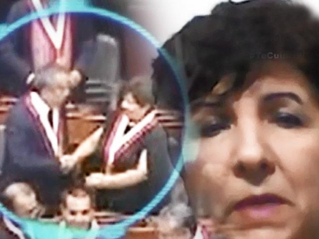 """¡EXCLUSIVO! Congresista Rosario Paredes denunciada por """"Recortasueldo"""""""