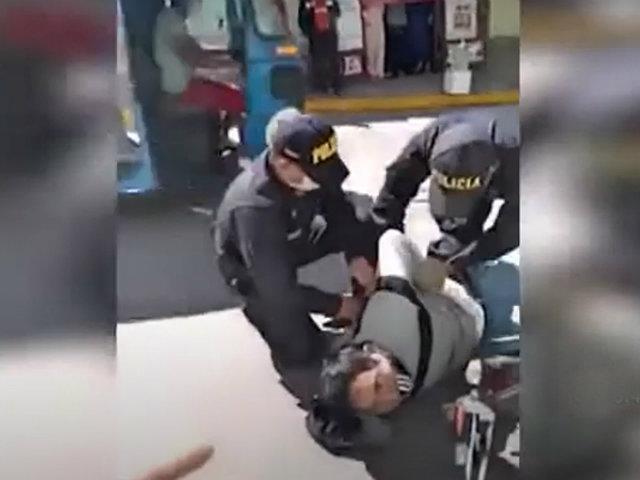 Huanta: denuncian a policías por hacer abuso de la fuerza