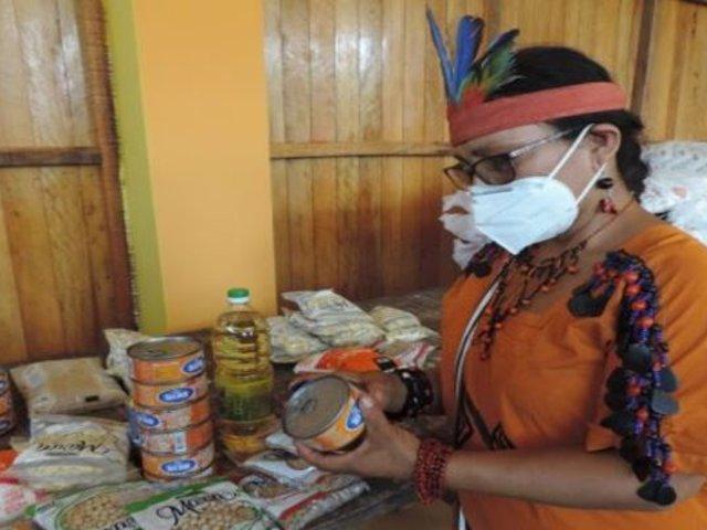 Gobierno entregó toneladas de alimentos a localidades indígenas del Vraem