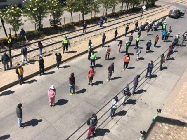 Junín: agentes de la PNP detuvieron a más de 400 personas por no respetar cuarentena total