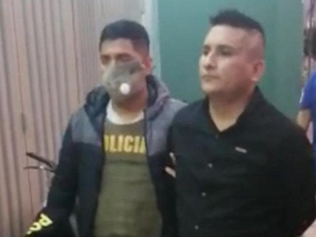 Luis Choy: capturan a delincuente implicado en crimen del fotógrafo