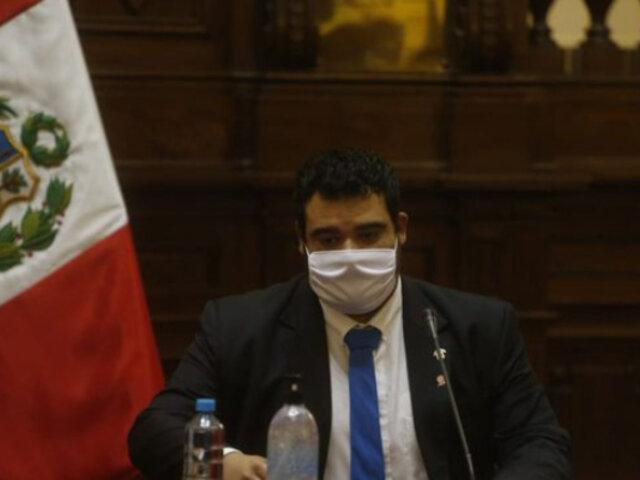 Congreso investiga quien lanzó insultos contra el mandatario Vizcarra durante debate, informó Aliaga