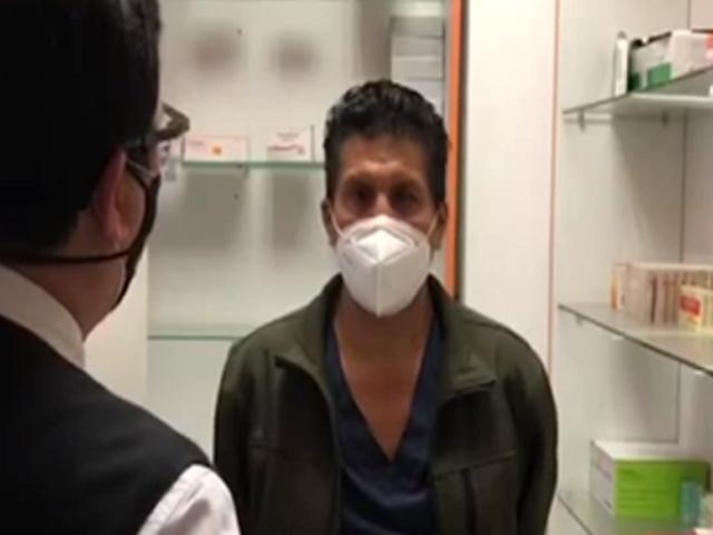 Ate: detienen a médico que trataba a pacientes con Covid-19 en policlínico clandestino