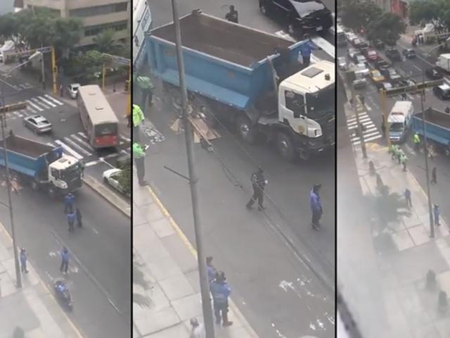 Miraflores: camión atropelló y mató a un hombre en la avenida Benavides