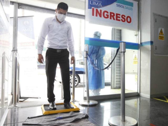 Sisol Salud reanuda atenciones médicas bajo normas de bioseguridad