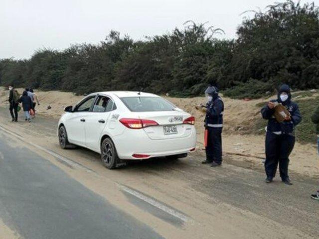 Autoridades de La Libertad intervinieron a choferes que trasladaban pasajeros informalmente