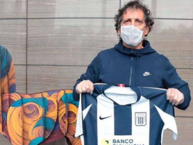 Alianza Lima: Mario Salas superó el covid-19 y hoy recibió alta médica