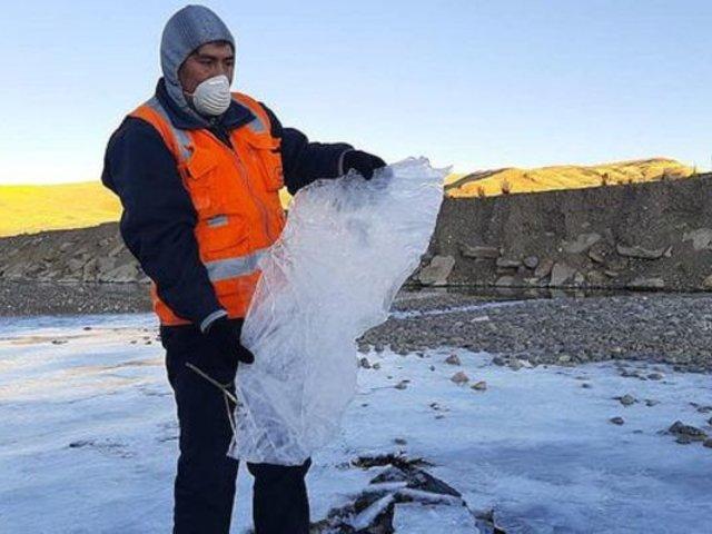 Puno: bajas temperaturas comenzaron a golpear a los habitantes de las zonas más alejadas